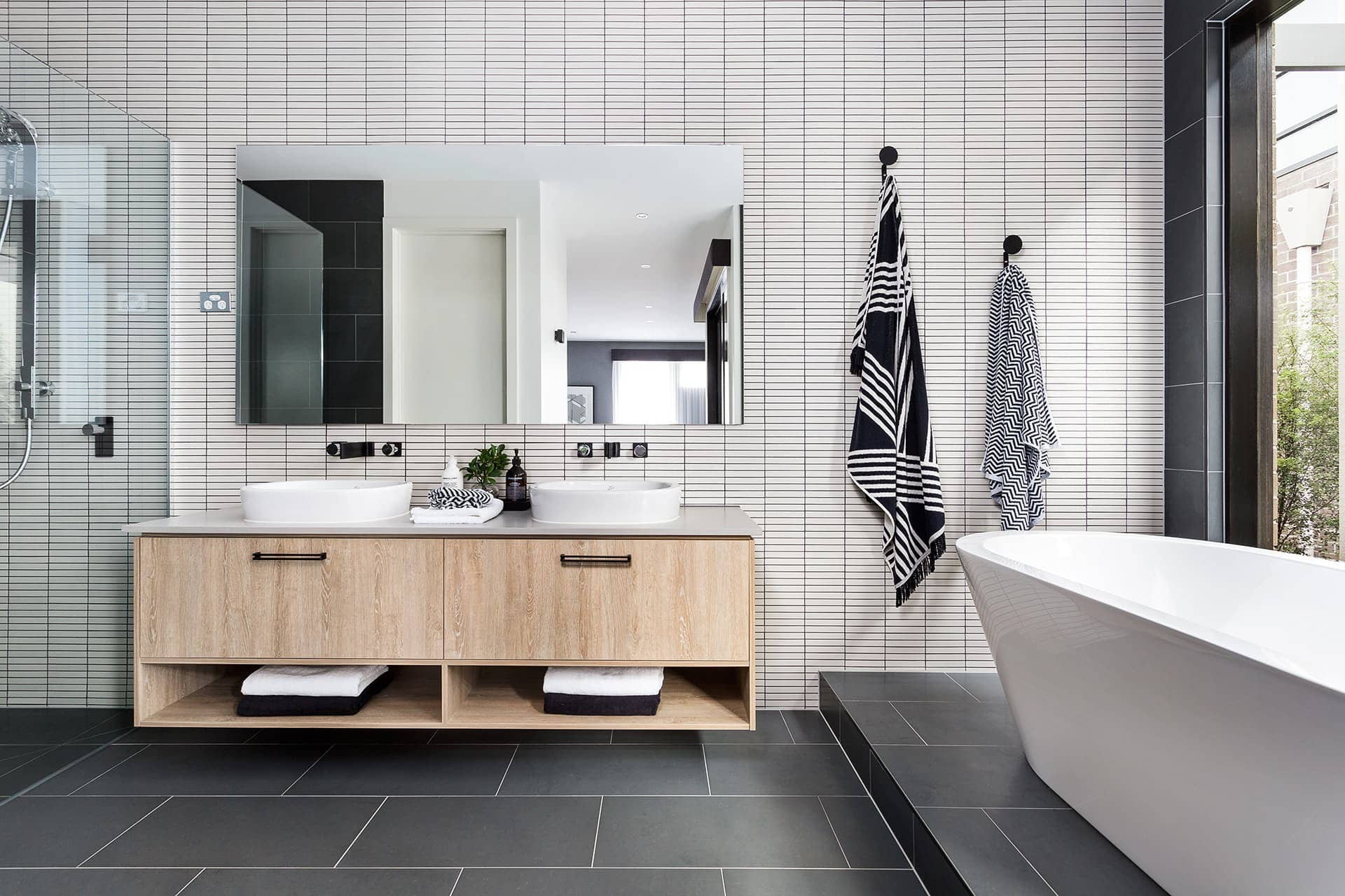 charcoal grey tiles bathroom the inside project kitchen bathroom and laundry design 17664