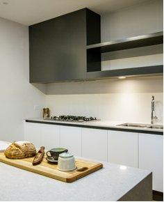 modern kitchen marble