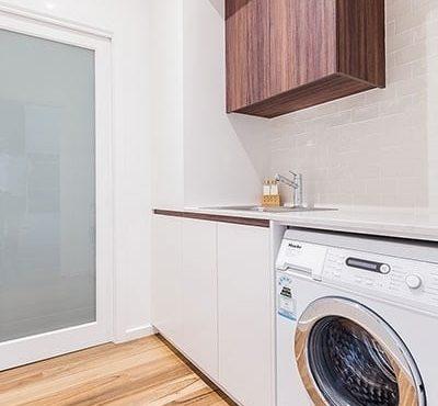 laundry renovated