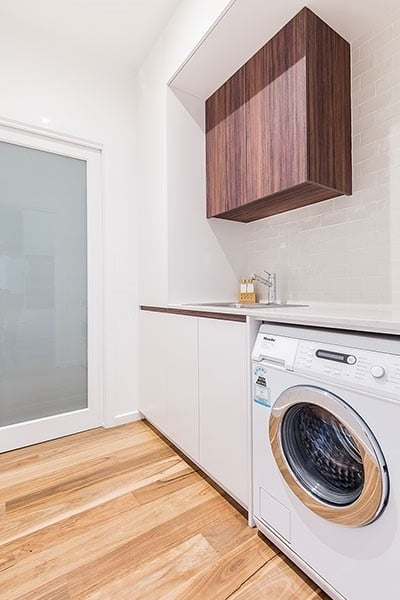 laundry renovated